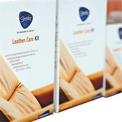 picture of stressless leather and fabric care kit by ekornes - Leather Furniture Care Kit