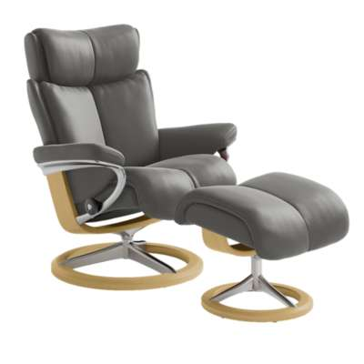 Picture for Stressless Magic Chair Large with Signature Base by Ekornes