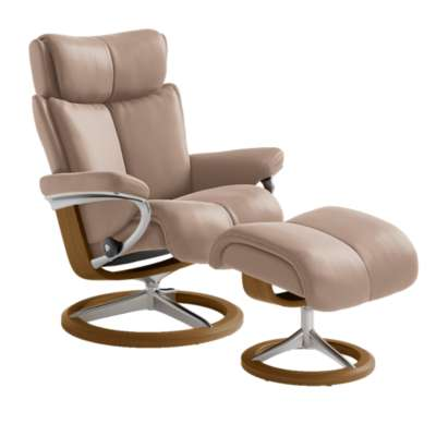 Picture for Stressless Magic Chair Small with Signature Base by Ekornes