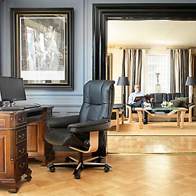 On Sale. Picture Of Stressless Mayfair Office Chair ...