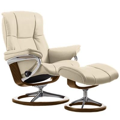 stressless mayfair chair medium w signature base smart furniture