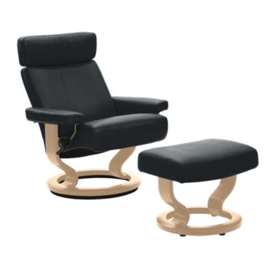 stressless orion chair and ottoman stressless smart furniture. Black Bedroom Furniture Sets. Home Design Ideas