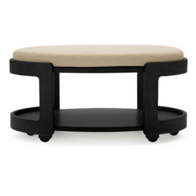 Stressless Oval Ottoman by Ekornes Smart Furniture