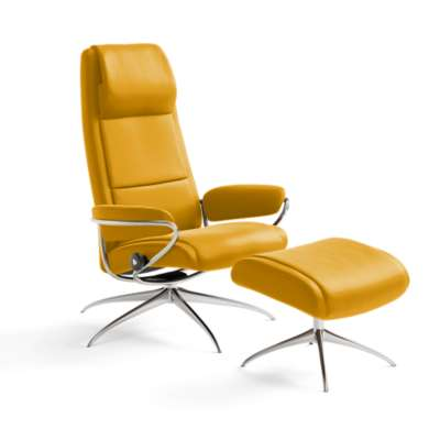 Picture for Stressless Paris High-Back Chair and Ottoman by Ekornes