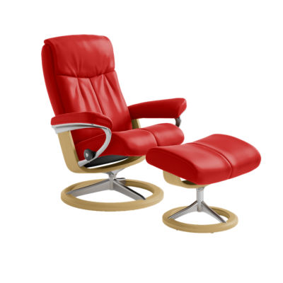 Picture of Stressless Peace Chair Small with Signature Base by Ekornes