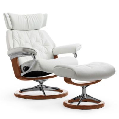 Picture of Stressless Skyline Chair Medium with Signature Base by Ekornes