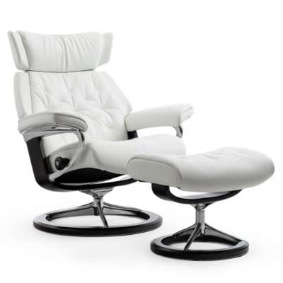 Picture for Stressless Skyline Chair Medium with Signature Base by Ekornes