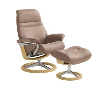 Picture for Stressless Sunrise Chair Large with Signature Base by Ekornes
