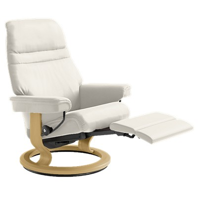 stressless sunrise chair large w legcomfort base smart furniture