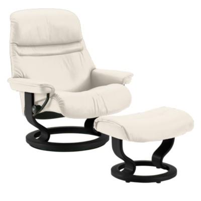 Stressless Sunrise Chair Medium And Ottoman Smart Furniture