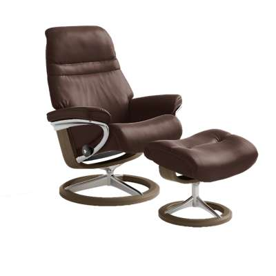 Picture for Stressless Sunrise Chair Medium with Signature Base by Ekornes