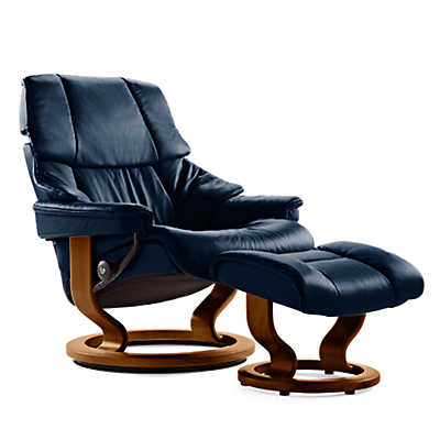 Picture of Stressless Reno Chair Small with Classic Base by Ekornes