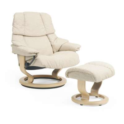 Picture for Stressless Reno Chair, Large in Fabric by Ekornes