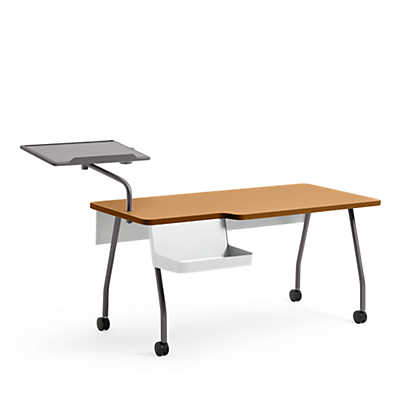 Picture of Verb Instructor Station with Storage Caddy by Steelcase