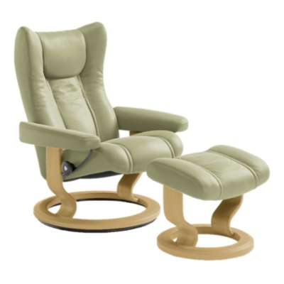 Picture for Stressless Wing Chair Medium with Classic Base by Ekornes