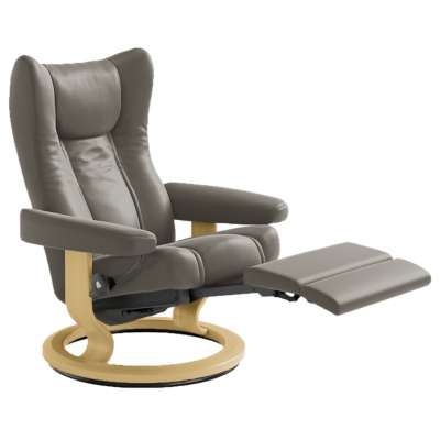 Picture for Stressless Wing Chair Large with LegComfort Base by Ekornes