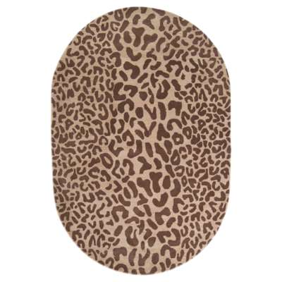 Picture for Athena Chocolate Oval Rug