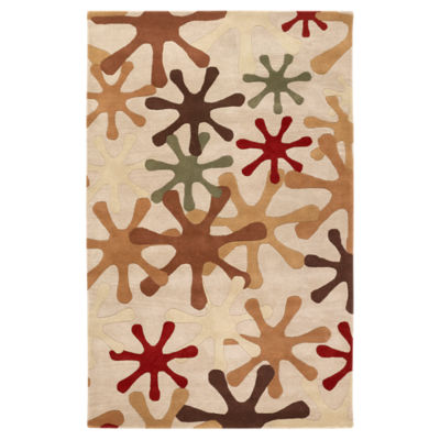 Picture of Athena Tan Rectangular Rug