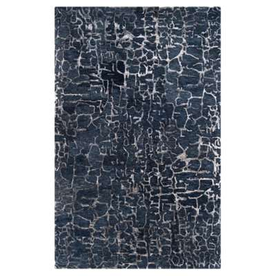 Picture for Banshee Cobalt and Slate Rectangular Rug