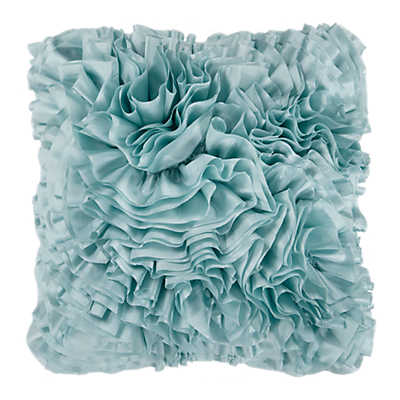 Picture of Frills Light Blue Pillow