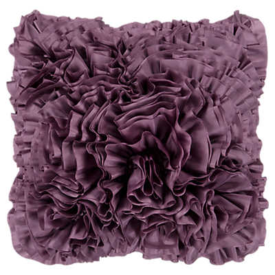Picture of Frills Plum Pillow