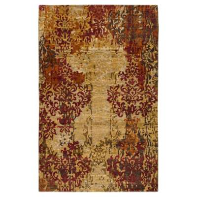 Picture for Brocade Burgundy Rectangular Rug
