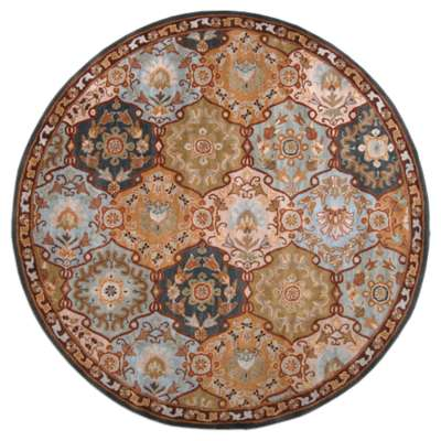Picture for Caesar Olive and Mocha Round Rug