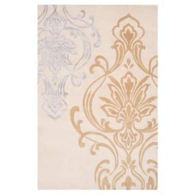 Picture for Modern Classics Ivory and Mocha Rectangular Rug