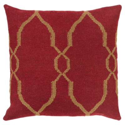 Picture for Fallon Burgundy Pillow