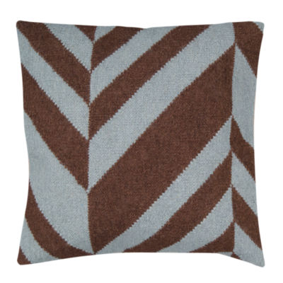 Picture of Fallon Stripe Pillow, Light Blue