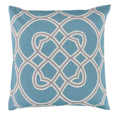 Picture for Kaleidoscope Pillow, Light Blue
