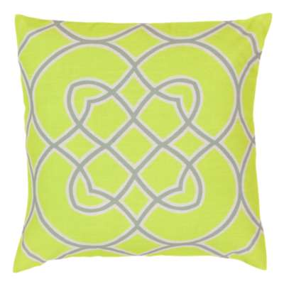 Picture for Kaleidoscope Pillow, Neon Yellow