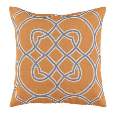 Picture of Kaleidoscope Pillow, Yellow