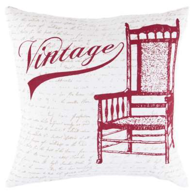 Picture for Vintage Chair Cherry Pillow