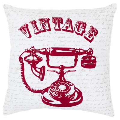 Picture for Vintage Phone Cherry Pillow