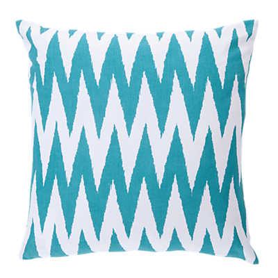 Picture of Chevron Pillow, Blue