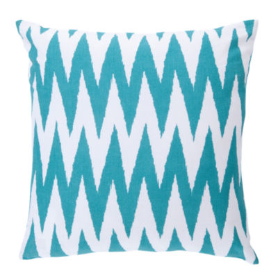 Picture of Chevron Pillow, Blue