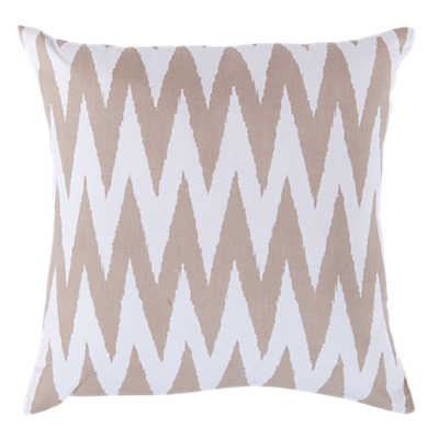 Picture of Chevron Pillow, Latte