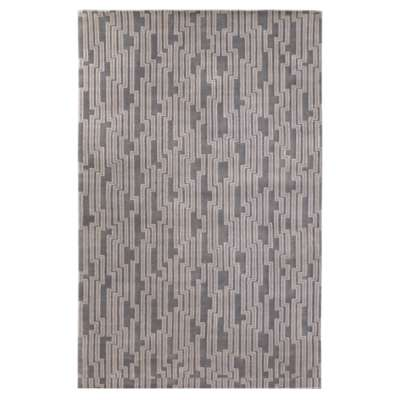 Picture for Luminous Light Gray Rectangular Rug