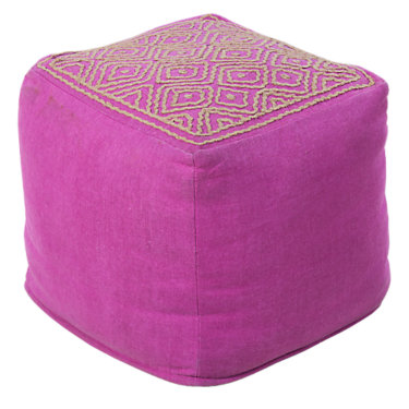 SURORPOUF-208: Customized Item of Orchid Pouf (SURORPOUF)