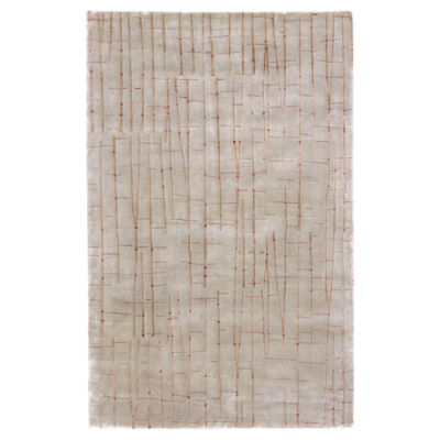 Picture of Shibui Light Gray Rectangular Rug