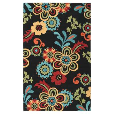 Picture for Storm Black Rectangular Rug