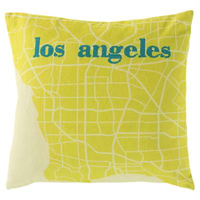 Picture for City Maps Los Angeles Pillow