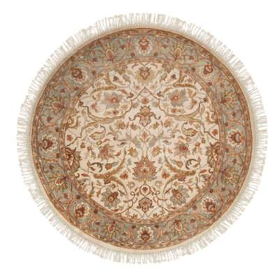 Picture for Taj Mahal Beige Round Rug