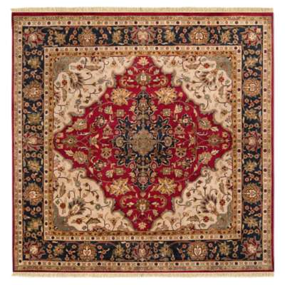 Picture for Taj Mahal Burgundy Square Rug