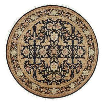 Picture for Taj Mahal Black Round Rug