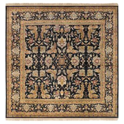 Picture for Taj Mahal Black Square Rug