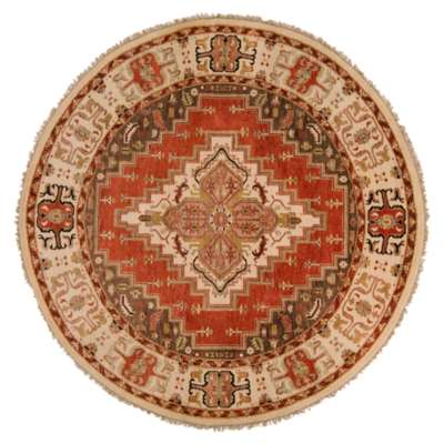 Picture for Zeus Beige Round Rug