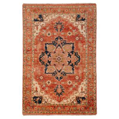 Picture for Zeus Salmon Rectangular Rug