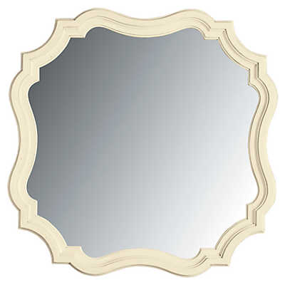 Picture of Coastal Living Cottage Piecrust Mirror